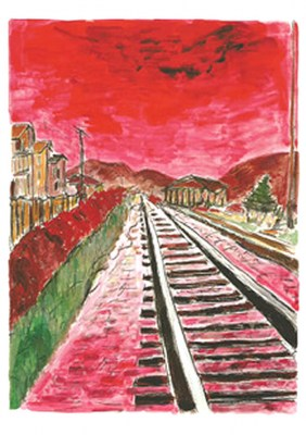Red Train Tracks 2014