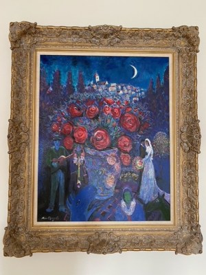 Wedding Flowers Chagal